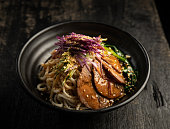 Chinese ramen, sichuan beef noodles