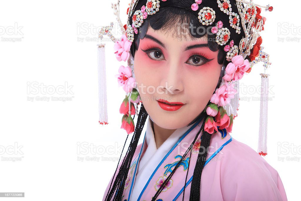 chinese women stock photo