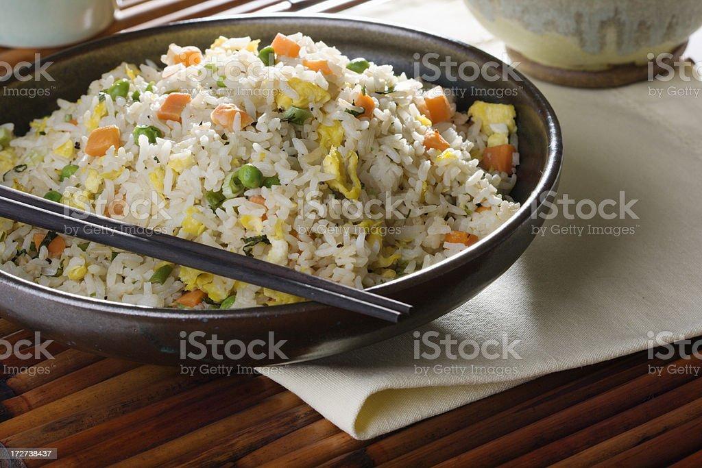 Chinese Yang Zhou Fried Rice Hz stock photo