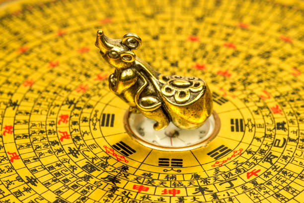 2020, Chinese year of the rat stock photo