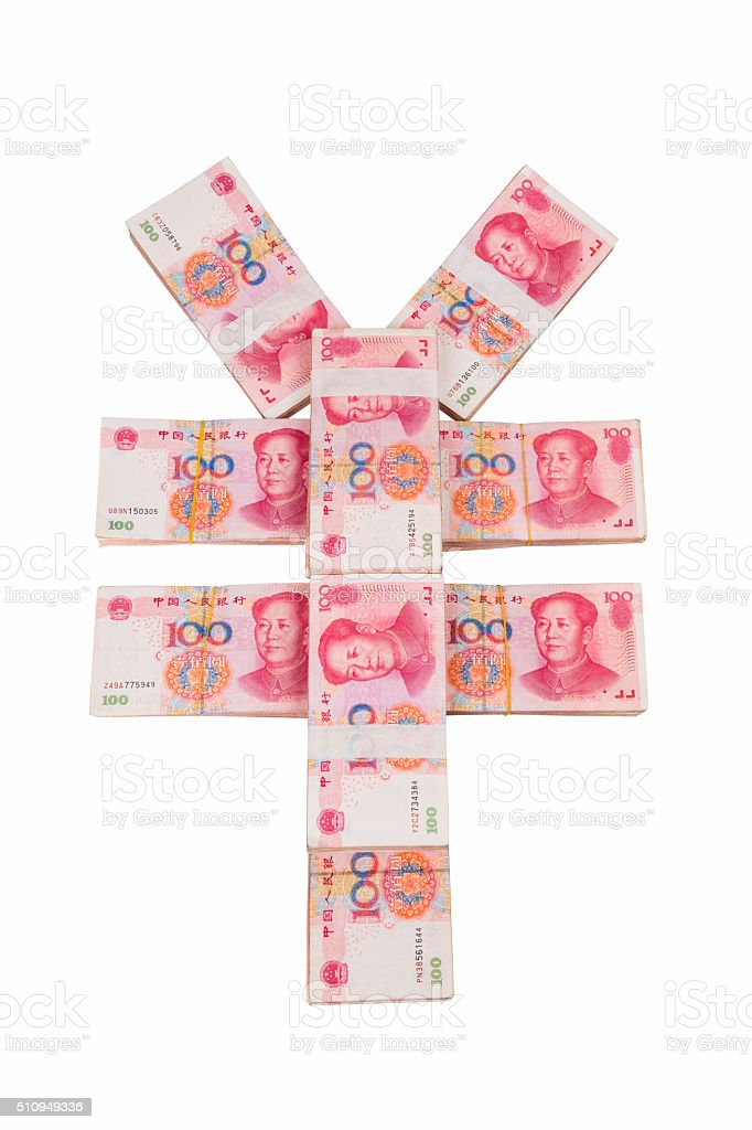 Chinese Yuan Symbol Stock Photo More Pictures Of China East Asia
