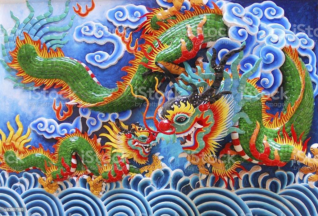Chineses Ancient Art stock photo