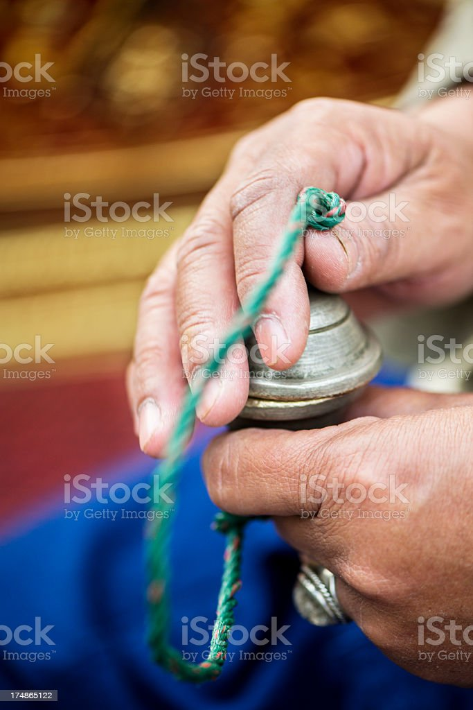 Ching - Traditional Thai Percussion stock photo