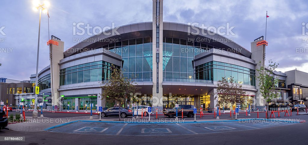 Chinook Centre shopping mall stock photo