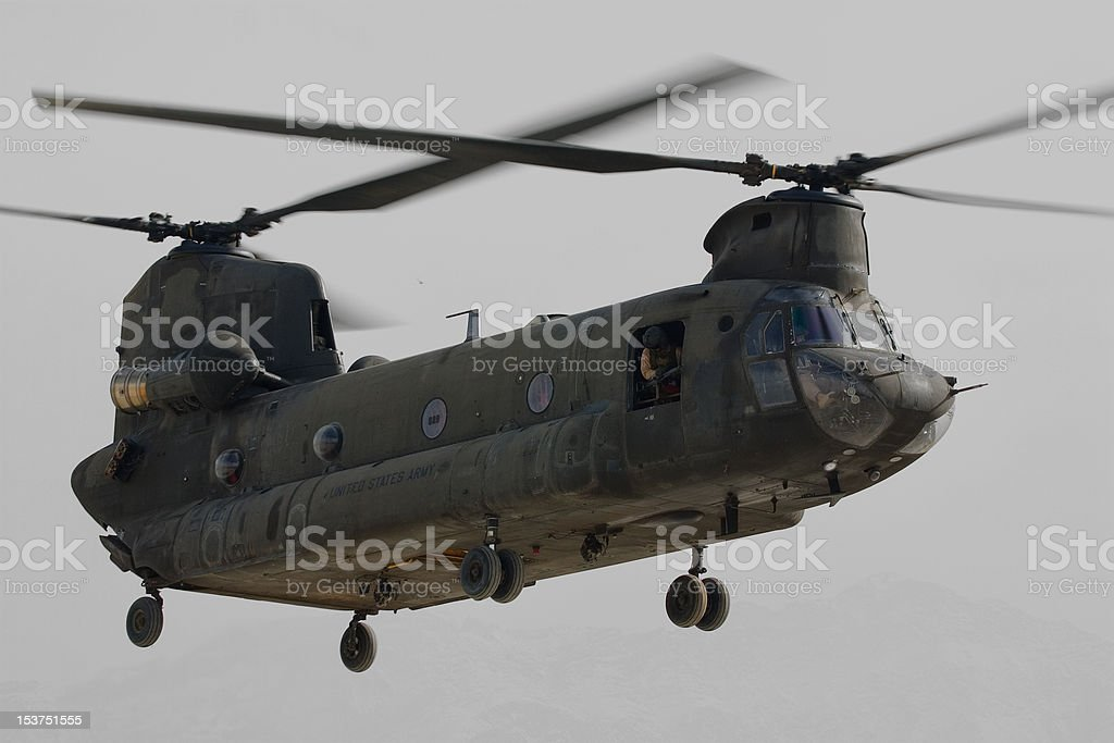 CH-47 Chinook stock photo