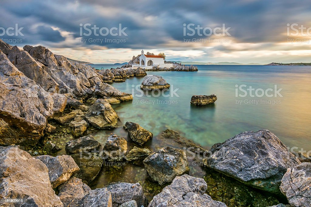 Chios Island, Greece stock photo