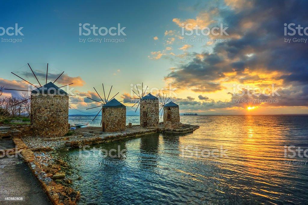 Chios Island, Greece stock photo