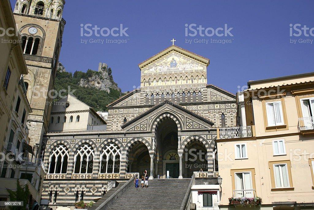 Chiostro del Paradiso, Amalfi foto stock royalty-free