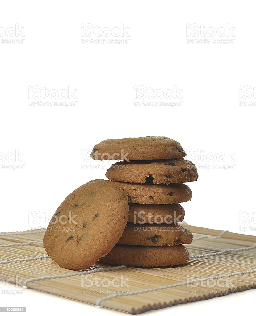 chip cookies royalty-free stock photo