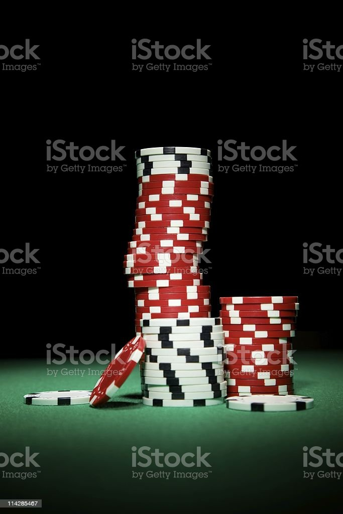 Chip Stack... stock photo