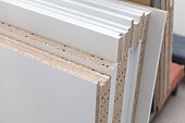 chipboard of different texture wood