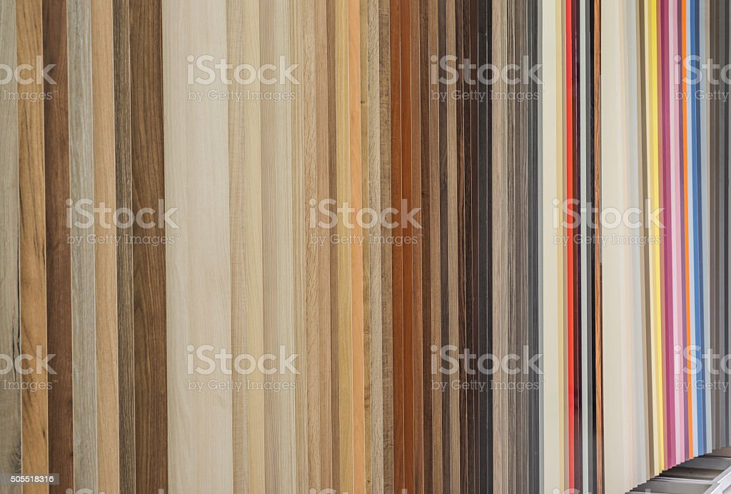 Chipboard panels stock photo