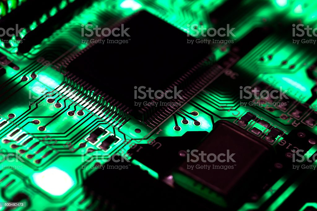 ChipBoard stock photo