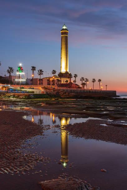 Chipiona lighthouse - foto de stock