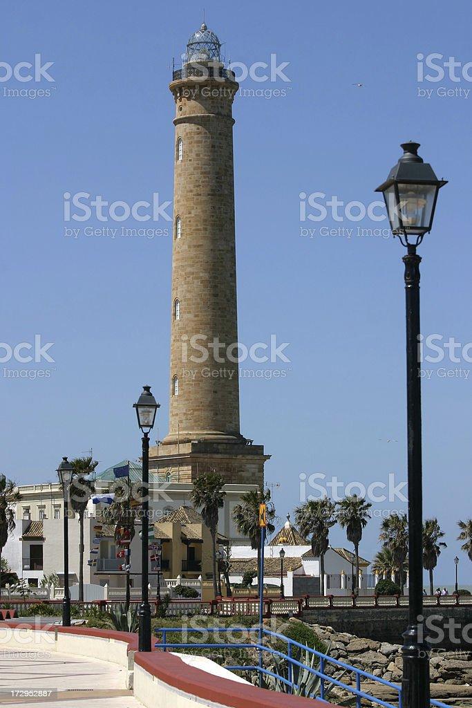 Chipiona Lighthouse stock photo