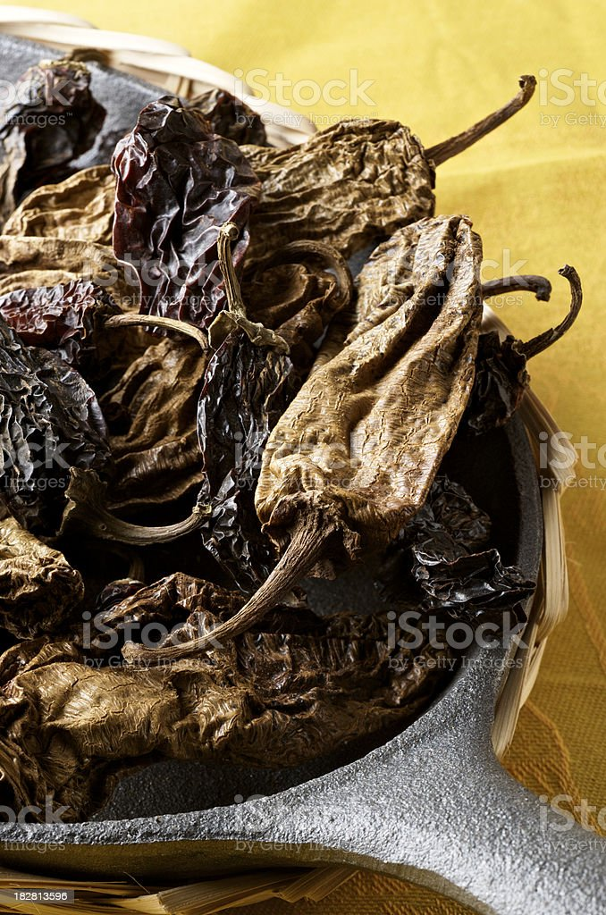 Chipotle Chiles royalty-free stock photo