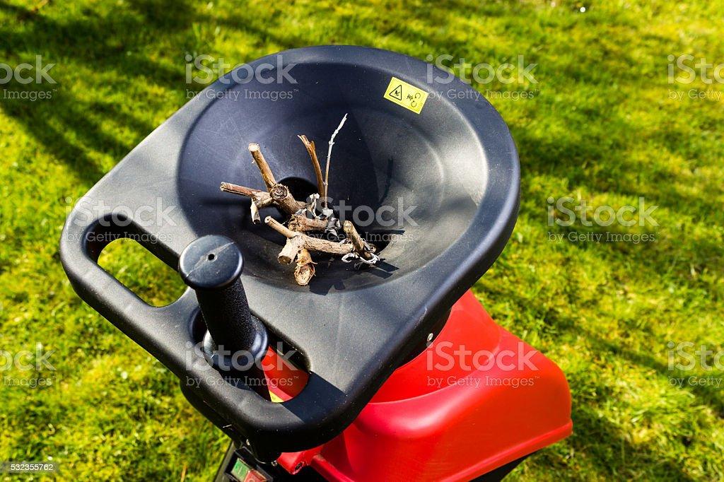 Häcksler in den Garten – Foto