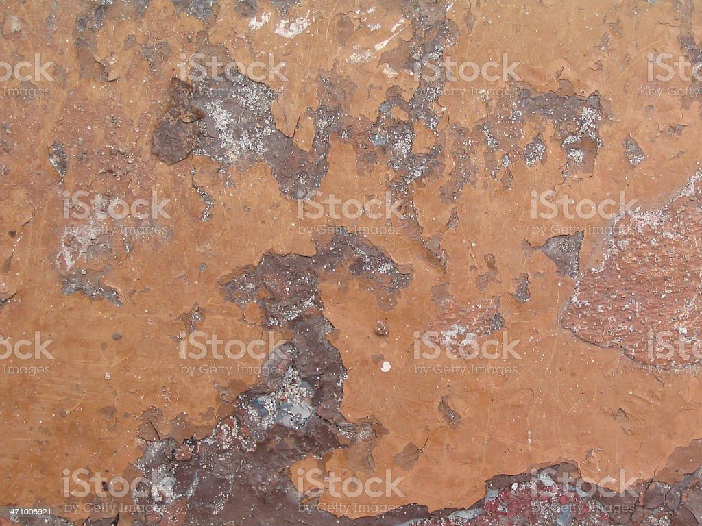 Chipping Paint royalty-free stock photo