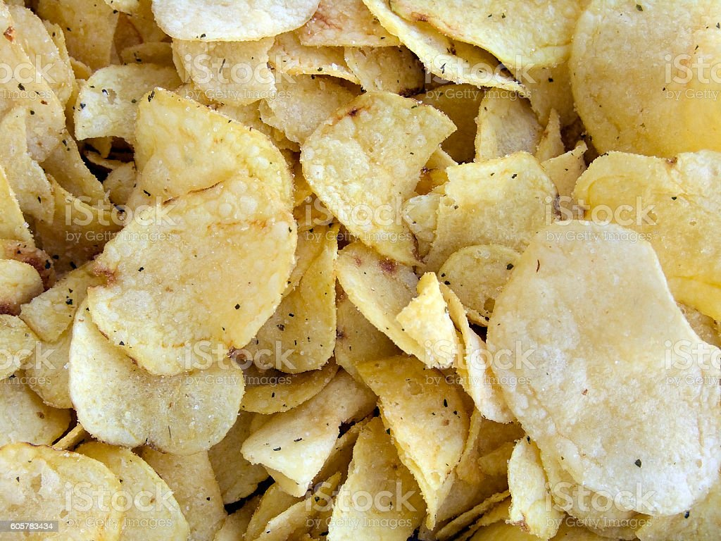 chips background stock photo