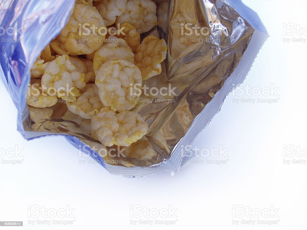 Chips - Miniature Rice Cakes royalty-free stock photo