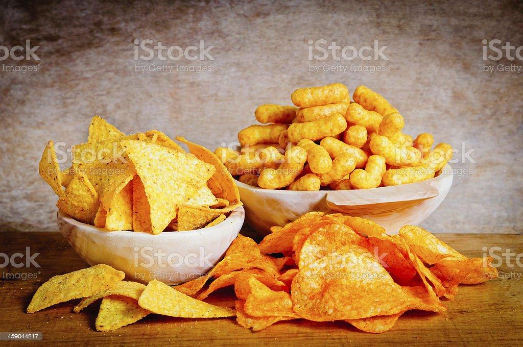 Chips, nachos und curls – Foto