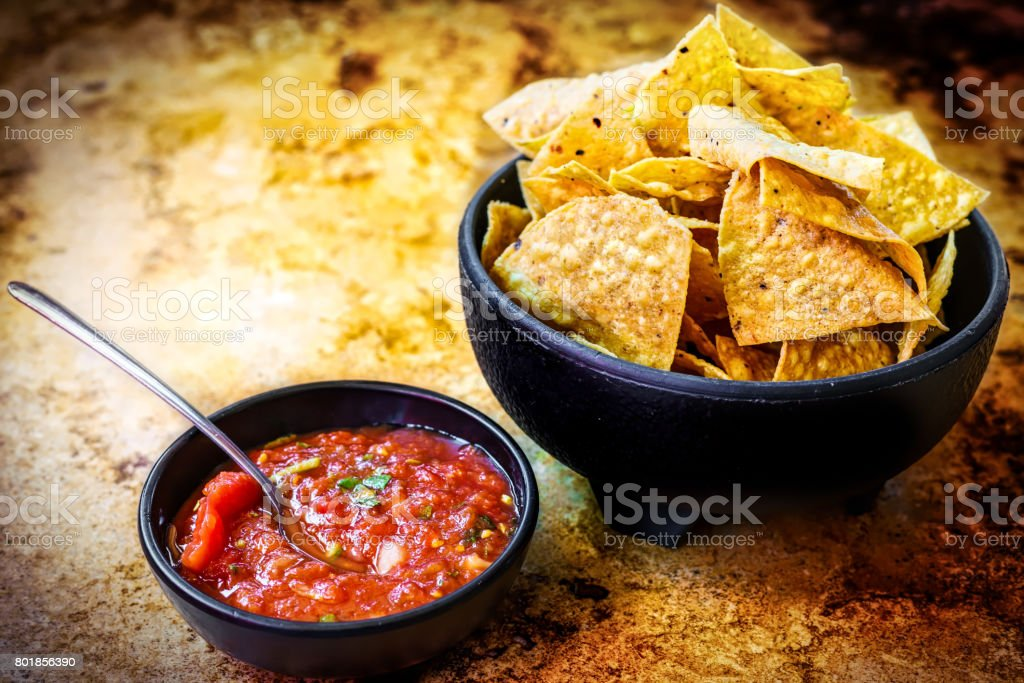 Chips-n-Salsa stock photo