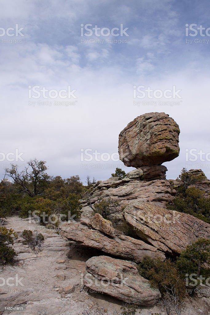 Chiricahua Balancing Rock Two stock photo