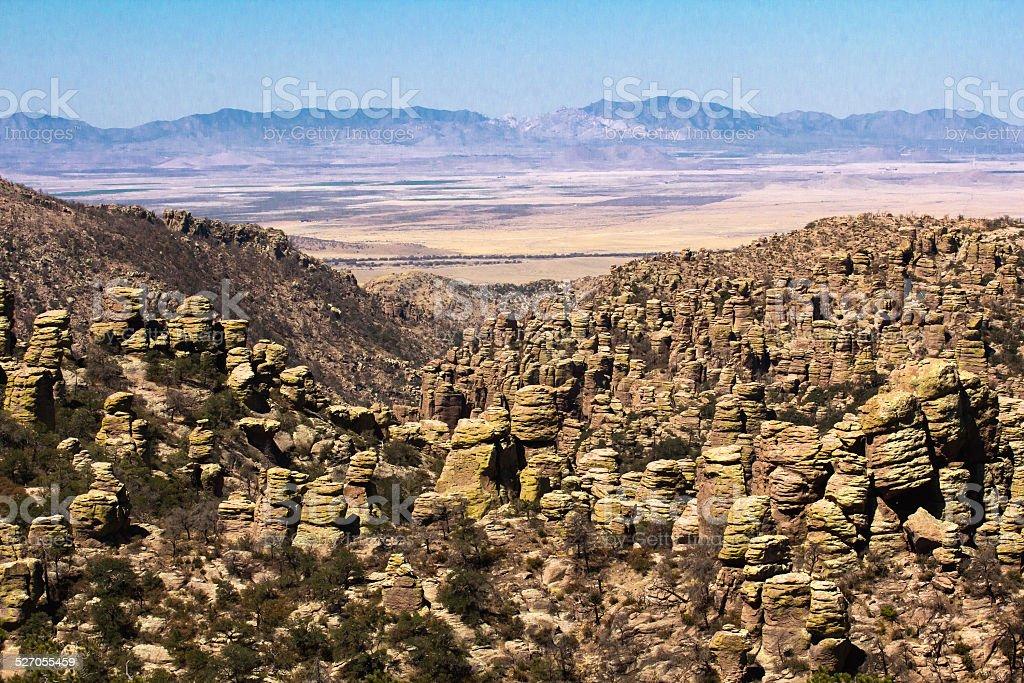 Chiricahua national park stock photo