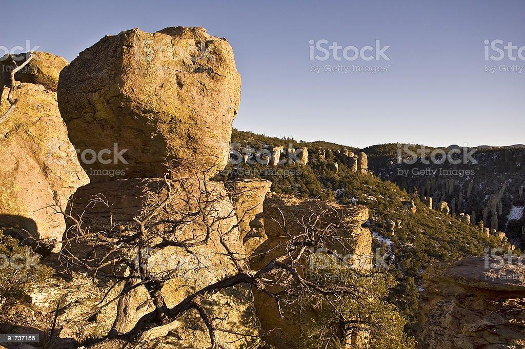 Chiricahua Natonal Monument stock photo