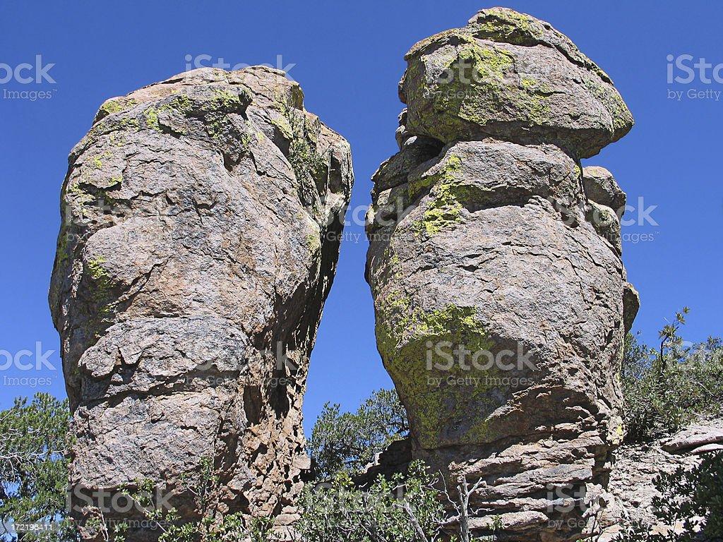 Chiricahua Rocks stock photo