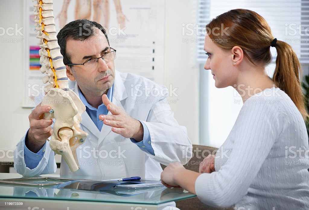 chiropractic stock photo