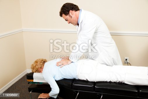 609830806 istock photo Chiropractor with Copyspace 119398691