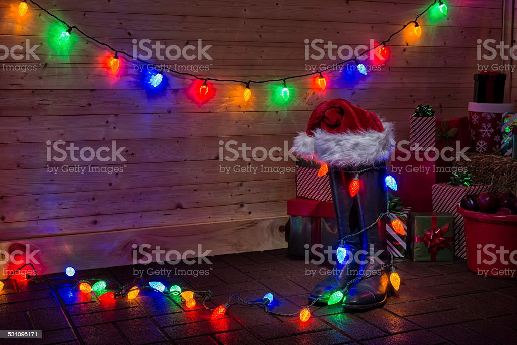 Chirstmas At The Horse Barn Stock Photo Download Image Now Istock