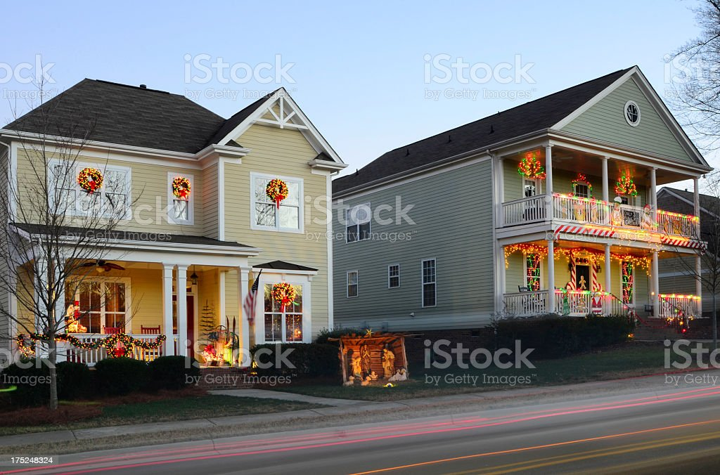 Chirstmas Decorations royalty-free stock photo