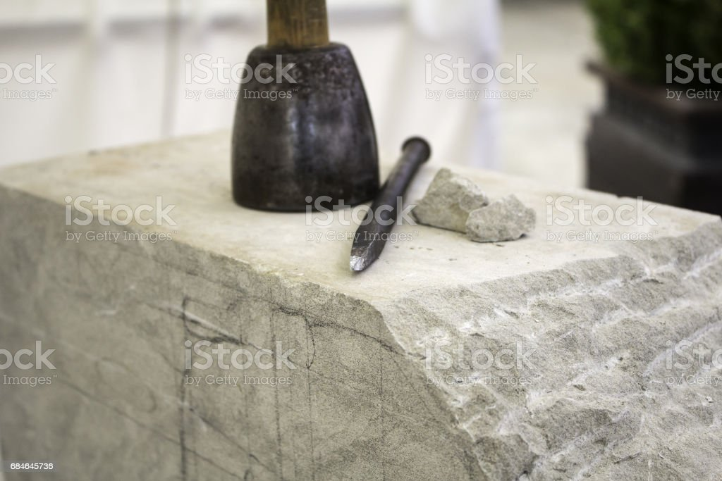 Chisel for sculpting – Foto