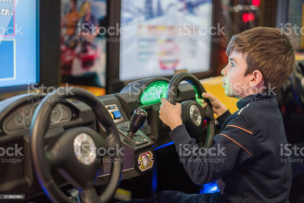 chıld play video game stock photo
