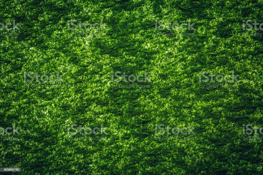 Chlorella powder Background stock photo