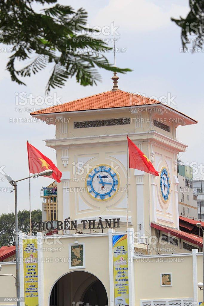 Cho Ben Thanh royalty-free stock photo