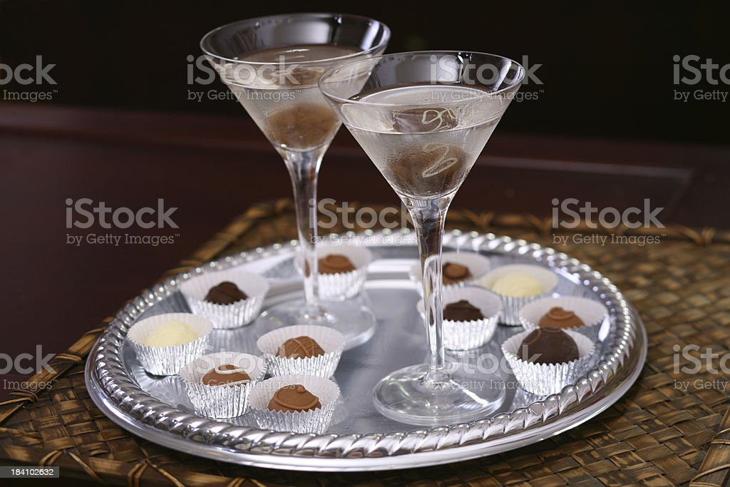 Chocoatini stock photo