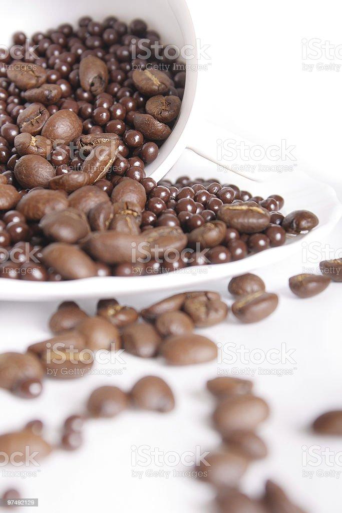 Chocolate balls royalty-free stock photo