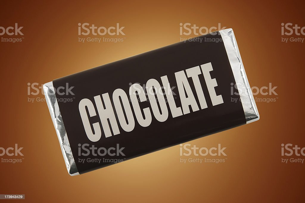 Barra de Chocolate - foto de stock