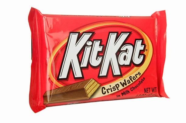 chocolate bar - kit kat stock photos and pictures