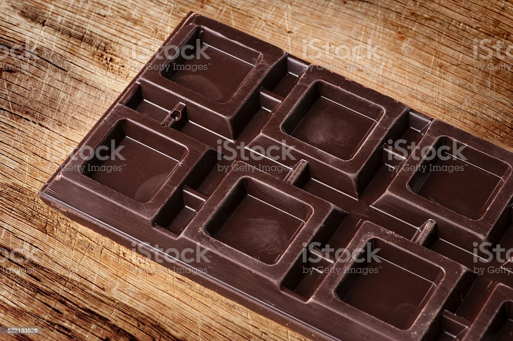 Barra de Chocolate - foto de acervo