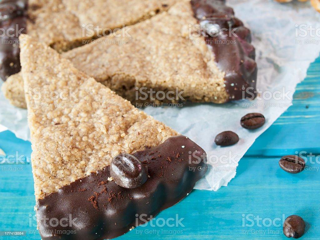 Chocolate bars stock photo