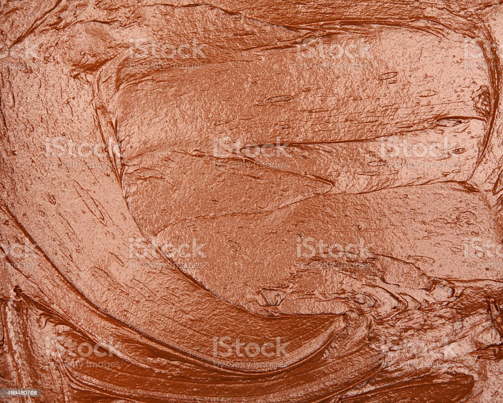 chocolate batter cake background stock photo