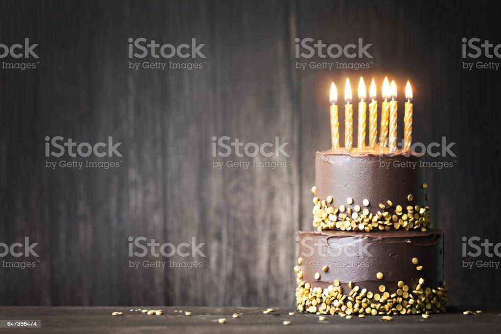 Czekoladowy Tort urodzinowy – zdjęcie