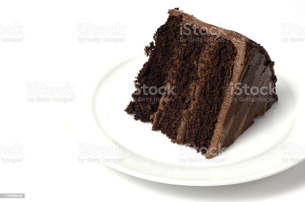 Bolo de Chocolate, novas fotos da mesma disponível - foto de acervo