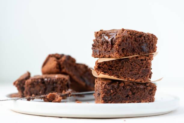 choklad kaka - brownie bildbanksfoton och bilder