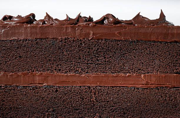 gâteau au chocolat - glaçage photos et images de collection