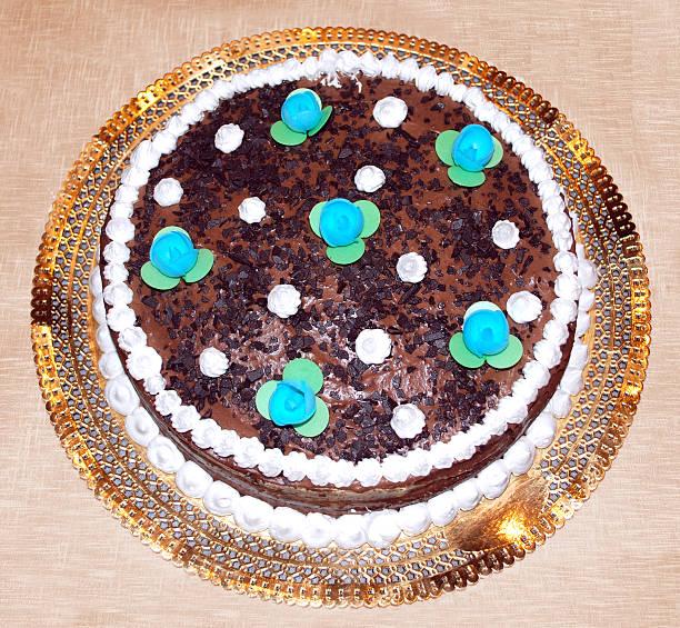 chocolate schokoladenkuchen - weihnachtlich tiramisu stock-fotos und bilder